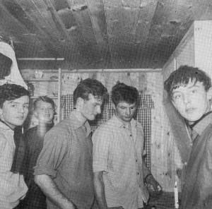 Frå venstre: Reidar Helvik, Øyvind Kvåle, Leif Magne Vik, Leif Vik og Olav Vik.